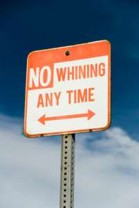 New Year's Resolution for Education - Quit Whining!
