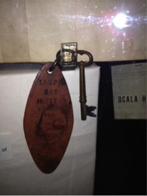Tampa Bay Hotel Room Key (Photo Credit: Michelle Licata)