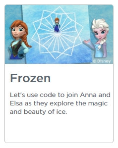 Disney Frozen Coding